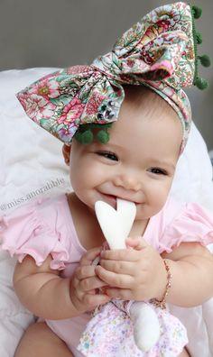 Bow | Headwrap | Baby Girl Fashion | Teething Toys