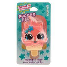 Pucker Pops Farrah the Fox Popper Lip gloss - Orange,