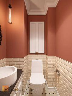 Фото интерьер санузла из проекта «Дизайн проект трехкомнатной квартиры 88 кв.м., ЖК «Северная Долина», американская классика с элементами LOFT»
