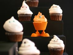 Halloween Cupcakes from CookingChannelTV.com