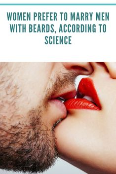 Women Prefer To Marry Men With Beards, According To Science Love Kiss Images, Romantic Love Images, Cute Couple Images, Love Romantic Poetry, Cute Love Pictures, Cute Love Couple, Romantic Couples, Sexy Love Quotes, Love Picture Quotes