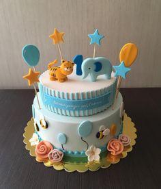1st birthday cake - Cake by sansil
