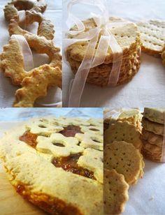 ITALIAN FOOD STYLE Rustic Shortbread cookies gluten free dairy free cow milk free ♥Fabipasticcio  no gluten no lactose no milk protein, easy and tasty!