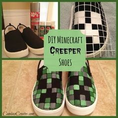Minecraft gifts for the biggest fans.kid-approved Minecraft gifts for holidays Minecraft Diy, Minecraft Shoes, Minecraft Buildings, Minecraft Stuff, Diy Minecraft Decorations, Minecraft Party Ideas, Boys Minecraft Bedroom, Minecraft Awesome, Minecraft Quilt