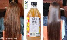vinagre de manzana para el pelo