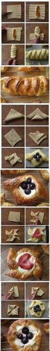Pastrie ideas!!