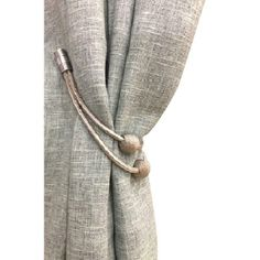 Details about 1 Piece Euro Style Magnetic Curtain Tieback Magnetic Curtain Tie Backs, Curtain Tie Backs Diy, Curtain Ties, Wooden Curtain Poles, Metal Curtain Pole, Wood Curtain, Piece Euro, 1 Piece, Double Curtains