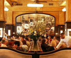 Balthazar Restaurant in New York... very good food, very French... great place for kids to feel sophisticated...