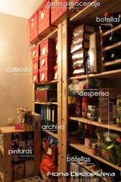1000 images about ideas para ordenar tidy on pinterest - Ordenar trastero ...