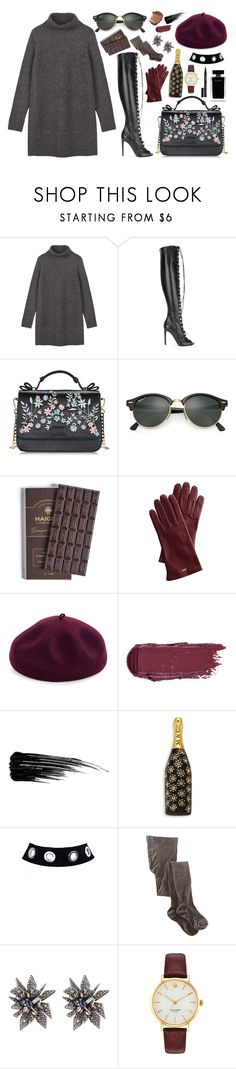 """""""You go gurl"""" by joannastawska on Polyvore featuring Mode, Giambattista Valli, Ray-Ban, Mark & Graham, Kathy Jeanne, Narciso Rodriguez, Urban Decay, Marc Jacobs, Smartwool und Alexis Bittar"""