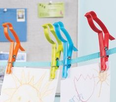 #Organizing and chores are more fun with these bird laundry clips. Use them for hanging laundry or displaying kid's artwork!