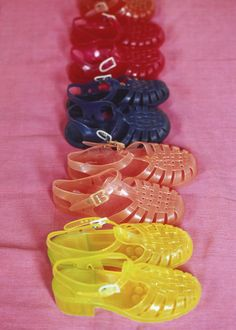 And jelly shoes.
