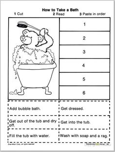 Story Sequencing Worksheets for Kindergarten. 24 Story Sequencing Worksheets for Kindergarten. March Sequence Writing for Beginning Writers Story Sequencing Worksheets, Sequencing Pictures, Reading Comprehension Worksheets, 1st Grade Worksheets, Sequencing Activities, Writing Worksheets, Kindergarten Worksheets, Worksheets For Kids, Printable Worksheets