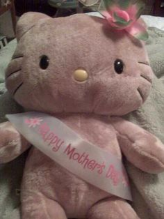 Kiddos got me a Build A Bear Hello Kitty for Mother's Day