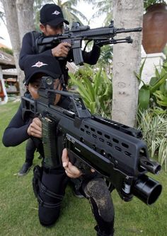 Indonesian Navy Special Forces.