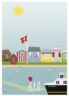 ÆRØ Plakat
