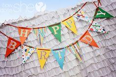 Clown Themed Rainbow Birthday Party