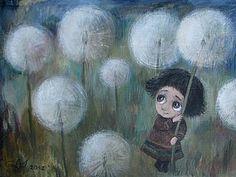 Трогательные картины Нино Чакветадзе   Ярмарка Мастеров - ручная работа, handmade