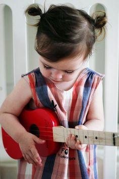 Guitar lover    #cute #kids