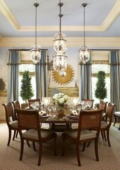 Blog Watch   Cindy Rinfret. Country Dining RoomsDining ...