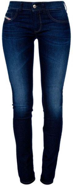 Diesel Blue Skinny Jeans