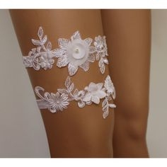 wedding garters,ivory lace bridal garter,lingerie,bridal... ($25) via Polyvore featuring intimates, garter lingerie, lacy lingerie, bridal lingerie, bride lingerie ve lace bridal lingerie