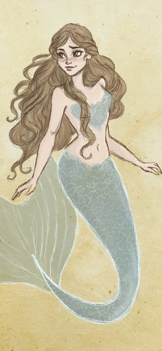 Mermaid by jennapaddey