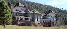 Osgood Castle, Redstone, Colorado  Built in 1903 for the fuel and iron baron, John C. Osgood, the house is said to still be his home, as his ghost has apparently been sighted many times over the years.  45 Spine Tingling Haunted Places in the USA