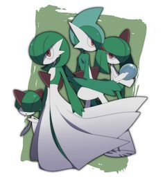 Gallade and gardevoir hentai helpless babes