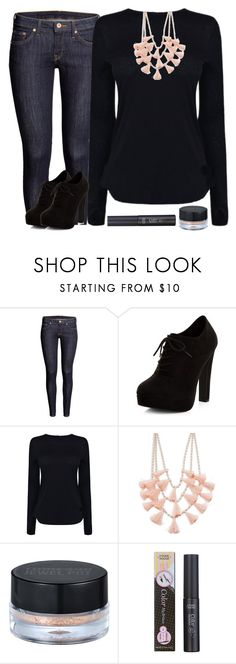 """""""Day Style #7"""" by ella178 ❤ liked on Polyvore featuring H&M, New Look, Helmut Lang, Design Lab, peripera and Etude House"""