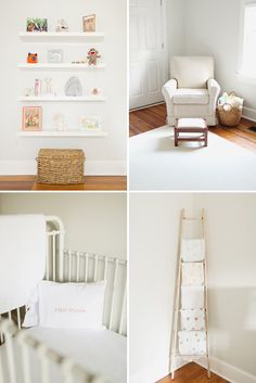 Baby Adeline and Her Classic, Simple Nursery