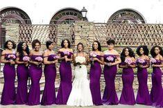 Plum perfection! bridesmaids in @peridotofficial   Via @munaluchibride #idoghana #bridesmaids
