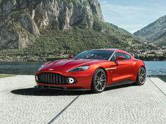 Cette Aston Martin Vanquish Zagato 2017 arrivera début de l'année prochaine dans une sérié très limitée de 99 exemplaires seulement.