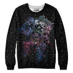 Astro Pizza Sweatshirt from Beloved Shirts