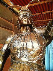 ROSTRO YOQUE YUPANQUI ARTISTICO bronce