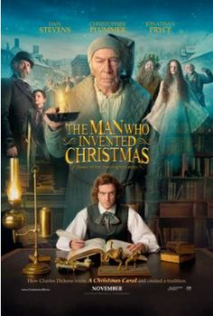 """THE MAN WHO INVENTED CHRISTMAS The journey that led to the creation of Ebenezer Scrooge (Christopher Plummer) and other classic characters from """"A Christmas Carol."""" The film shows how Charles Dickens (Dan Stevens) conjured up a timeless tale. Streaming Movies, Hd Movies, Movies To Watch, Movies Online, Movies And Tv Shows, Movies Free, 2017 Movies, Movie Tv, Film 2017"""