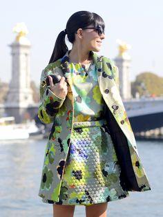 Paris Fashion Week - Sept 2014! #giuliarositani #ootd #outfit #style #streetstyle #fashion #lauracomolli #fashionweek #parisfashionweek #pfw #pursesandi