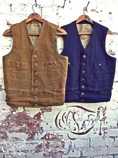 Mister Freedom vintage vests