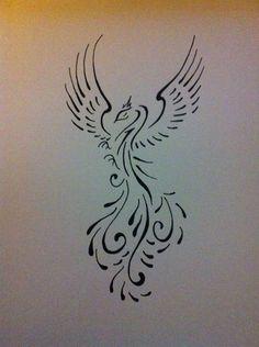Tattoo, feniks, future