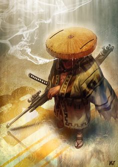 Samurai 81  by *njay
