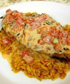 Queso Smothered Chicken - I wanted to lick the plate! by lea