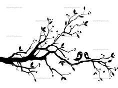 Tree / Bird template