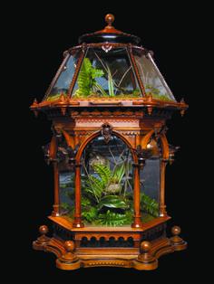 Victorian terrarium. Florian Papp (antiques since 1900 - 1stdibs.com) also see jardinieres & planters