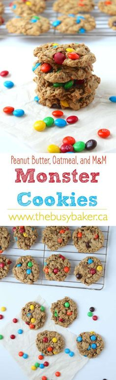 The Busy Baker: Monster Cookies: