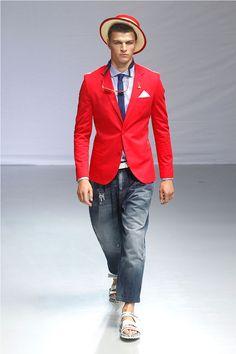 COOL CHIC STYLE to dress italian Frankie Morello Spring/Summer 2014  #frankiemorello  #mensfashion #ss14