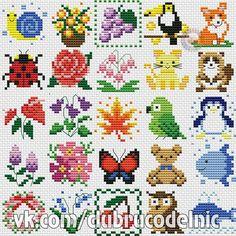 Tiny Cross Stitch, Baby Cross Stitch Patterns, Cross Stitch Bookmarks, Cross Stitch Borders, Cross Stitch Animals, Cross Stitch Flowers, Cross Stitch Designs, Cross Stitching, Cross Stitch Embroidery
