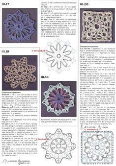 Основы вязания крючком... круговое вязание и 35 образцов и мотивов | Золотые Руки