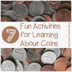 Boy Mama Teacher Mama: 7 Fun Activities for Learning about Coins {After School Linky}