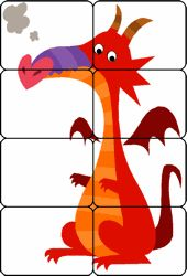 Cut and put together Dragon Dragon Birthday, Dragon Party, Kindergarten Lesson Plans, Kindergarten Activities, Chateau Moyen Age, Castle Crafts, Fairy Tale Activities, Dragons Love Tacos, Medieval