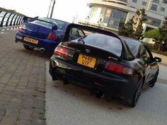 Dan's Old ZS180 and the Gen6 with Supra High tail spoiler